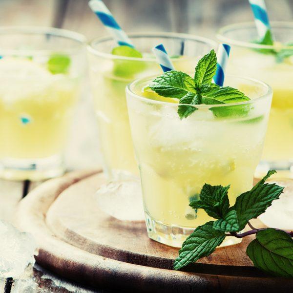napój cytrynowy izotoniczny