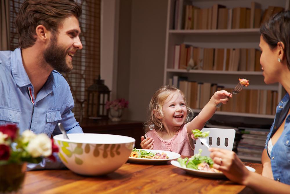 smaczna kolacja dla dwulatka