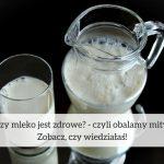 Czy mleko jest zdrowe? – czyli obalamy mity! Zobacz, czy wiedziałaś!